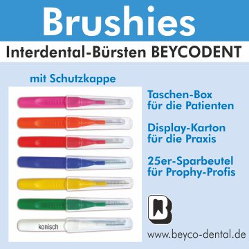 Brushies Interdentalbürsten BEYCODENT